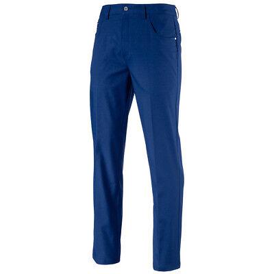 NEW 2018 PUMA 6 POCKET GOLF PANTS SODALITE BLUE 38/34