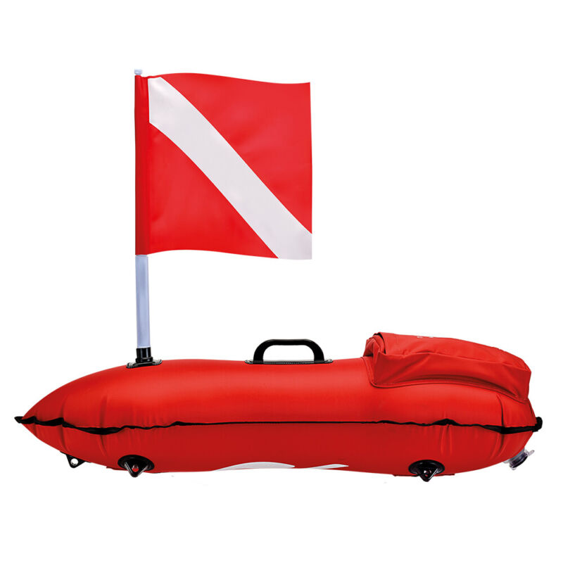 C4 Red Dragon Buoy For Spearfishing, Diving