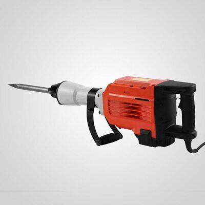 Concrete Breaker 3600w 2 Chisel Bits Electric Demolition Jack Hammer Tool Hot