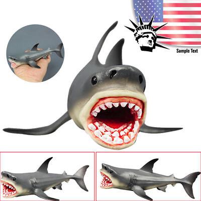 Megalodon Prehistoric Shark Ocean Sea Education Animal Figure Model Kids Toy US