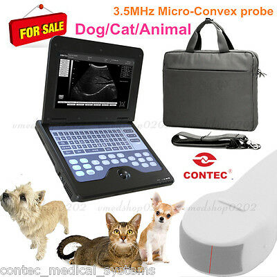 Potable Laptop Machine Vet Veterinary Ultrasound Scanner 5.0 Micro-convex Probe