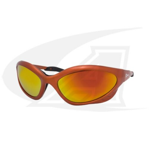 Miller Shatterproof Safety Glasses with Shade 5 Lenses - Orange