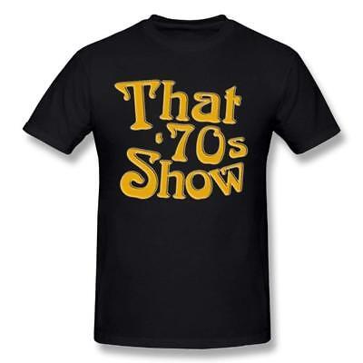 Men That Is 70s Show Tee Shirts Short Sleeve Cotton T Shirt