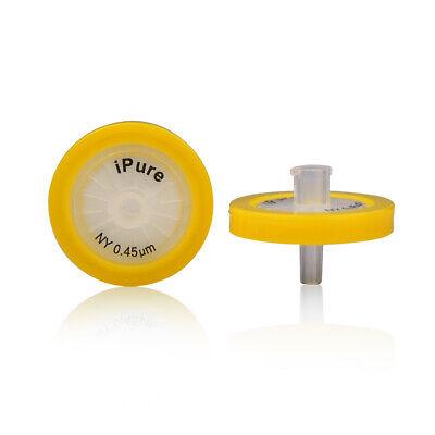 10x Nylon Syringe Filter 0.45m 25mm Diameter Sterilenon-sterile Optional