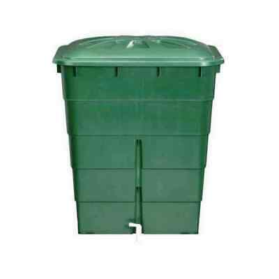 Rain Container 300l Green Water Barrel Tank Storage Garden New