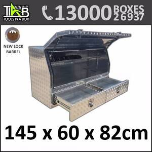 Aluminium Toolbox Side with 2 Drawers Truck Ute Tool Box 1468A Sydney City Inner Sydney Preview