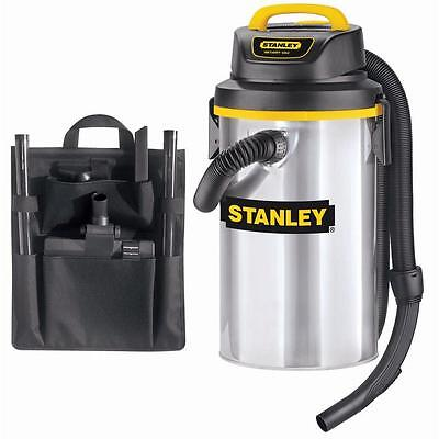 4.5 Gal Stanley Steel Wet Dry Shop Vacuum Cleaner Garage Vac Utility Heavy Duty