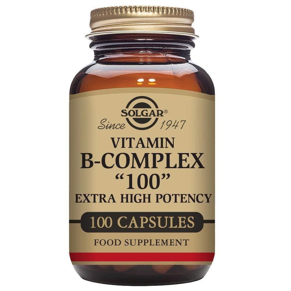 "Solgar B-Complex ""100"", Energy Metabolism, Non-GMO, 100 Vege"