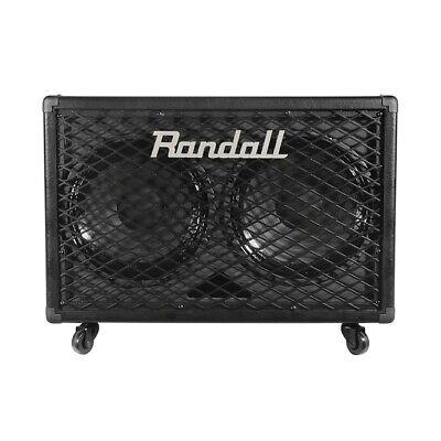 Randall RG212 2x12 100W Guitar Speaker Cabinet Black 2x12 Guitar Speaker Cabinet