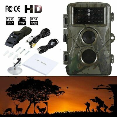 Trail Camera Wireless Farm Security Hunting Cam Waterproof Night Vision Cameras
