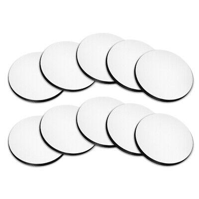 Set 10 Pcs Blank Round Neoprene Coasters For Sublimation Heat Transfer Printing