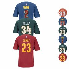 NBA Adidas Official Pigment Dye Premium Player Name & Number Jersey T-Shirt Men