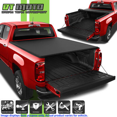 Soft Roll Up Tonneau Cover For 2015-2019 Chevy Colorado GMC Canyon 5ft 60