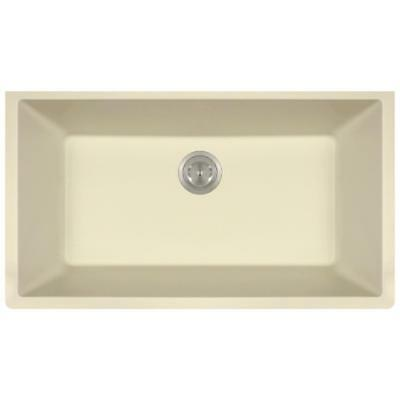 848 Beige Quartz Single Bowl Kitchen Sink