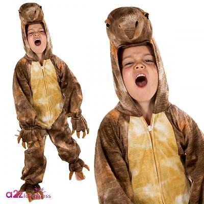 Stegosaurus Natural History Museum Offiziellen Lizenz Dinosaurier-Kostüm Kinder