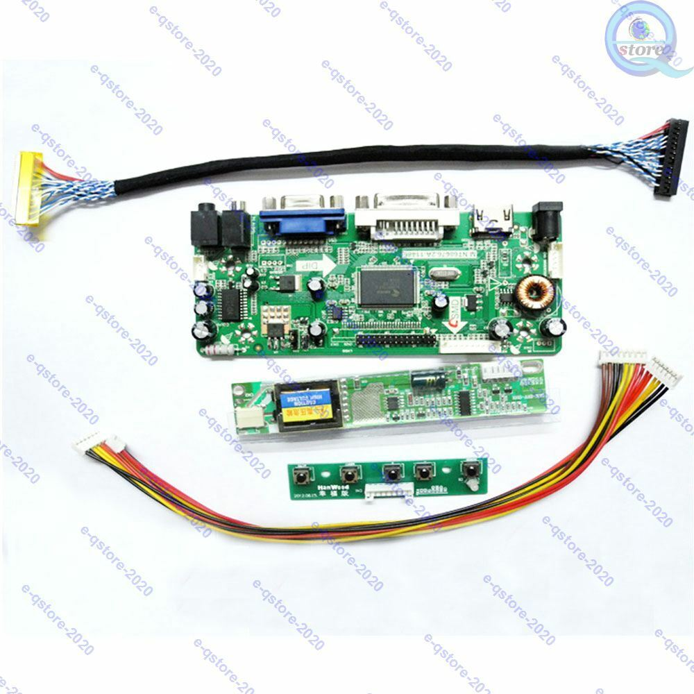 LVDS LCD Screen Driver Board Kit for LP156WH3 AA TLAA 1366X768 with HDMI+DVI+VGA Input TL