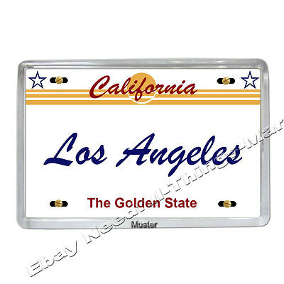 Souvenir Foto Magnet - Los Angeles California -  Fotomagnet - 5mm dickes Acryl