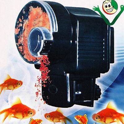Pesebre Alimentador Alimentos Pescado Regla Automático Acuario Distribuidor