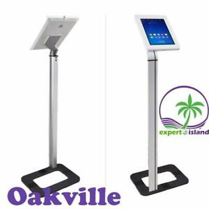 PYLE PSPADLK38 Tamper-Proof Anti-Theft iPad Tablet Kiosk Floor Stand Holder for Public Display Canada Preview