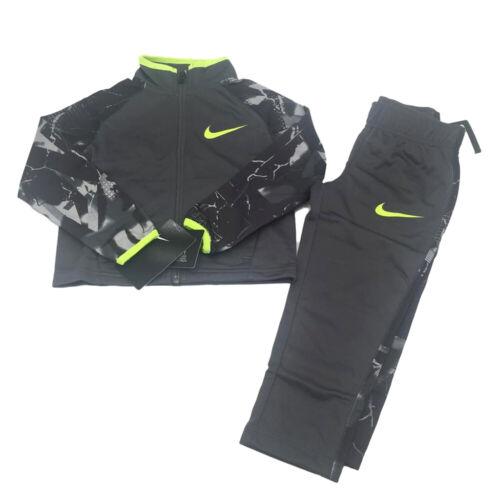 New Nike Little Boys 2 Pc Jacket Pants Tricot Track Suit Set Size 2T MSRP $28.00