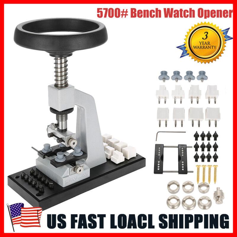 5700# Bench Watch Opener Case Back Press & Accessories ,Watchmaker