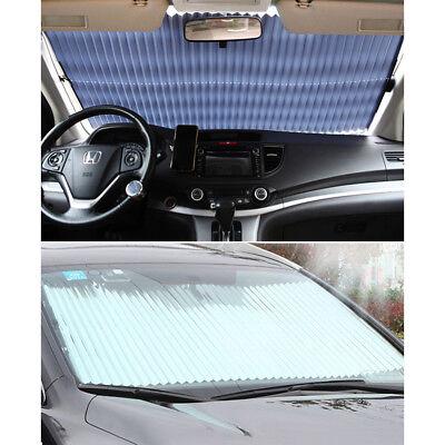 Car SUV Windshield Visor Retractable Window Sun Shade Folding Auto Block Cover
