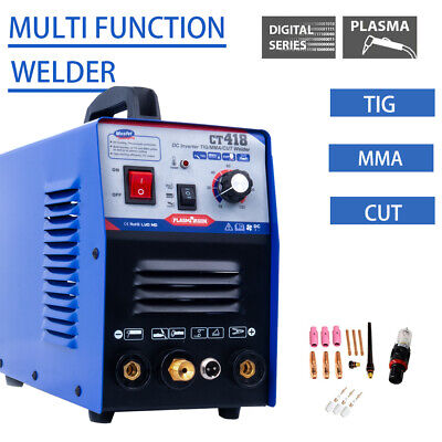 Ct418 3 In 1 Plasma Cutter Tigmma Welding Machine Welding 1 To 8mm 110220vcsa