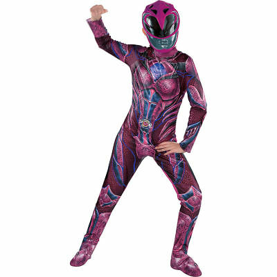 POWER RANGERS PINK MOVIE RANGER COSTUME CHILD GIRL - Power Girl Cosplay Kostüme