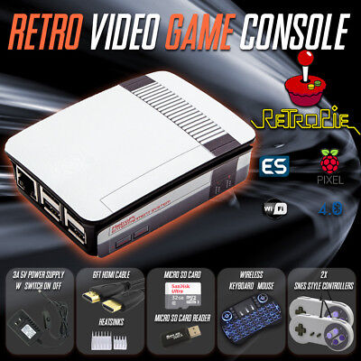 RetroPie Raspberry Pi 3 B+ Retro Gaming Video Console, Fully Loaded