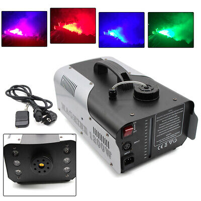 LED mit 6 x 3W RGB LEDs FLAMMEN LICHT EFFEKT FOGGER DJ party (Party Fogger)
