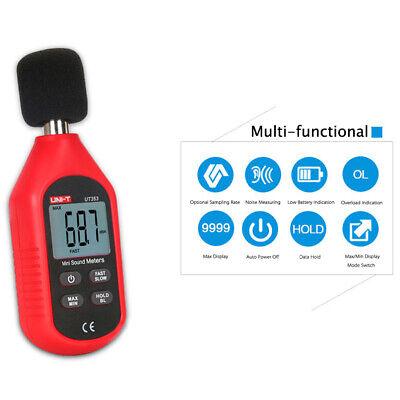 Ut353 Sound Level Meter Digital Lcd Noise Tester Measurement Decibel 30-130db