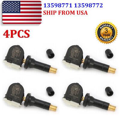 4xACDelco 13598771 13598772 GM Original Equipment Tire Pressure Sensor TPMS USA