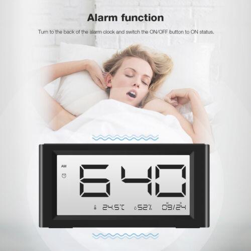 Snooze Function Alarm Clock Thermometer/Hygrometer Digoo DG-C4S Calenda