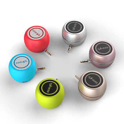 Universal Mini A5 Speaker 3.5mm Wired MP3 Music Player For C