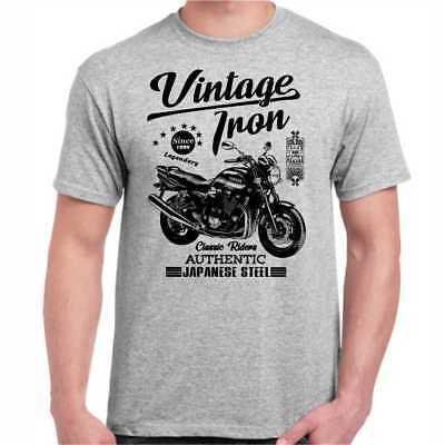 T-Shirt Yamaha XJR 1300 Oldtimer Youngtimer Vintage Motorrad  ()