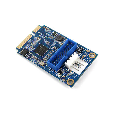 MINI PCI-E to USB3.0 Adapter Card Mini PCIE to 20Pin/19Pin Expansion Card N1R6