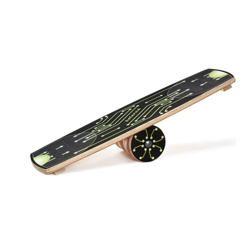 Carrom 300 Pound Capacity Exercise Balance Board with Anti Skid Strips, Green
