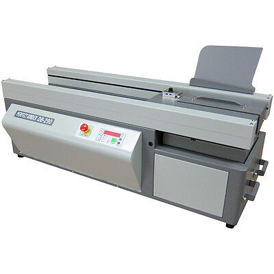 (Duplo DB-290 Perfect Binder / Perfect Book Binding Machine)