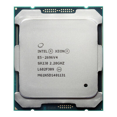 Intel Xeon Processor E5-2696/E5-2699 v4 OEM CPU LGA 2011-3 2.2GHz 22-Core SR2J0