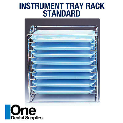 Dental Instrument Tray Rack Hold For 8 Tray B