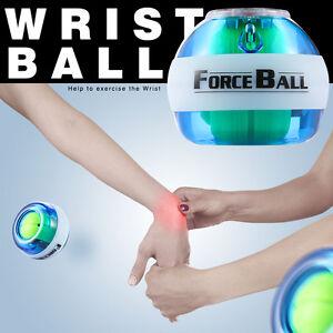 LED-giroscopio-bola-de-Muneca-fortalecedor-con-contador-digital-LCD-Azul