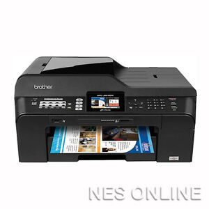 Brother MFC-J6510DW A3 6-in-1 MFP Printer+FAX with /LC73 Ink w/ Auto Duplexer