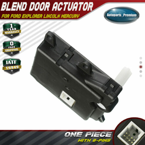 HVAC Air Door Actuator Heater Blend Door Levers for Ford Taurus 1996-2007 Explorer Sport Trac Lincoln Mountaineer Aviator Mercury Continental Sable