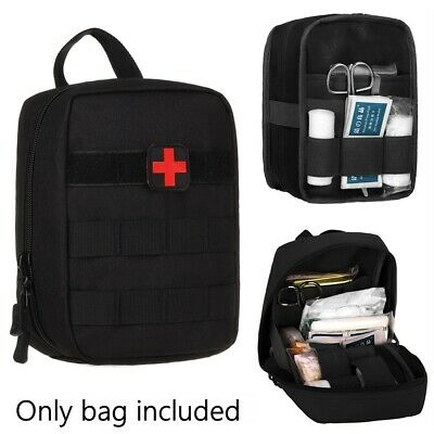 Best NEW TACTICAL FIRST AID KIT SURVIVAL MOLLE MILITARY MEDICAL BAG UTILITY EMT POUCH