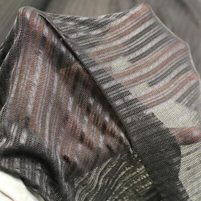 Designer Dessous Netz-Stoff gestreift längs- und querlastisch TOP für Deko - Dessous Und Kostüm
