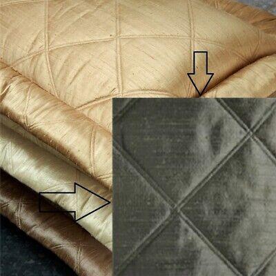 NEW Ann Gish Neiman Big Diamond Steel 100% Silk Standard Pillow Sham Bedding