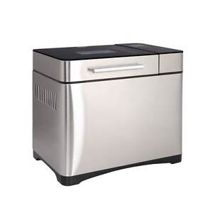 Stainless Steel 19 In 1 Bread Maker w/ Fruit and Nut Dispenser Brisbane City Brisbane North West Preview