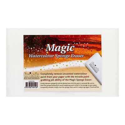 Frisk : Magic Watercolour Erasers Sponges : Pack of 4