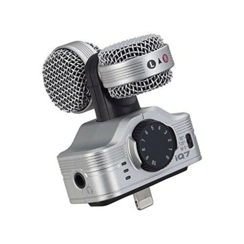 ZOOM iQ7 MS Stereo Microphone for iPhone/iPad/iPod touch