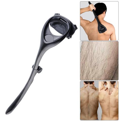 Herren Rücken Körper Haar Entfernung Rasierer Groß Klinge Hairy Schwarz